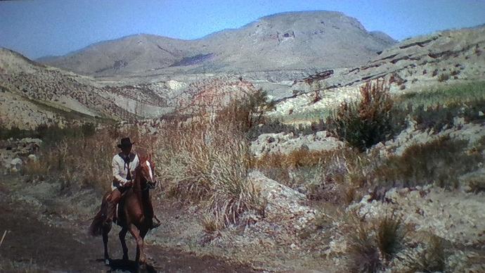 Navajo Joe Fonelas scen